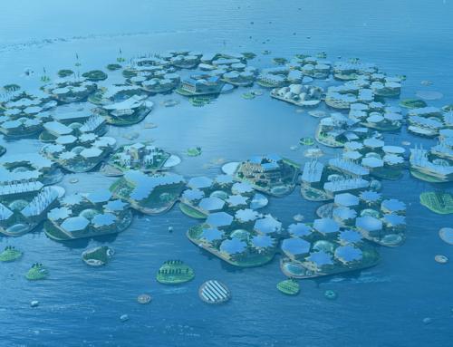 """""""Oceanix City"""" : le projet de villes flottantes autonomes et modulables"""